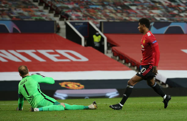 Rashford scored the second of the night after a quick break-away
