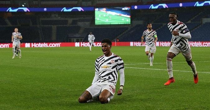 Rashford the hero once again as United claim victory at Paris