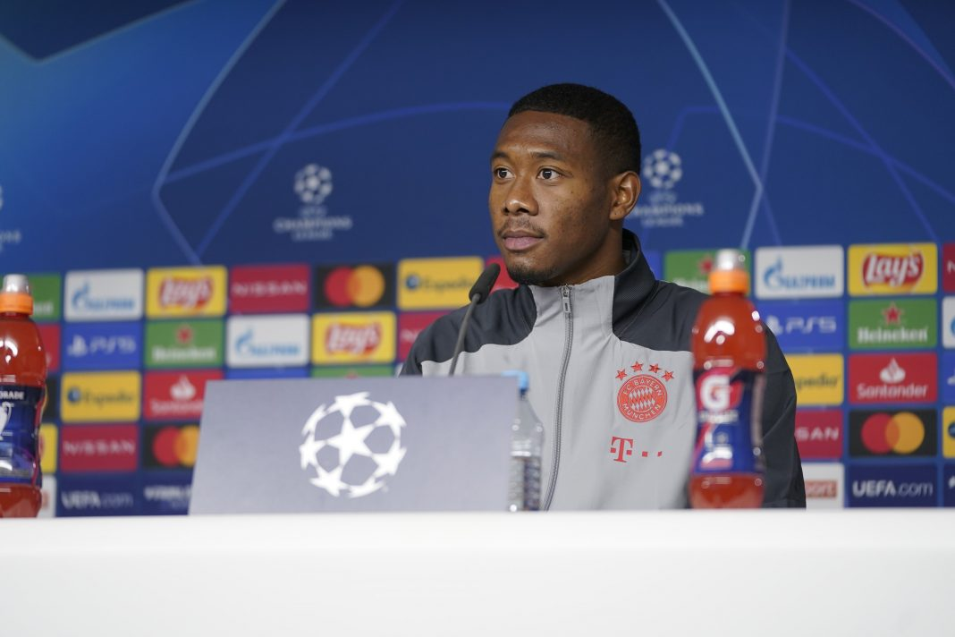 Alaba disappointed with Bayern board after contract withdrawal