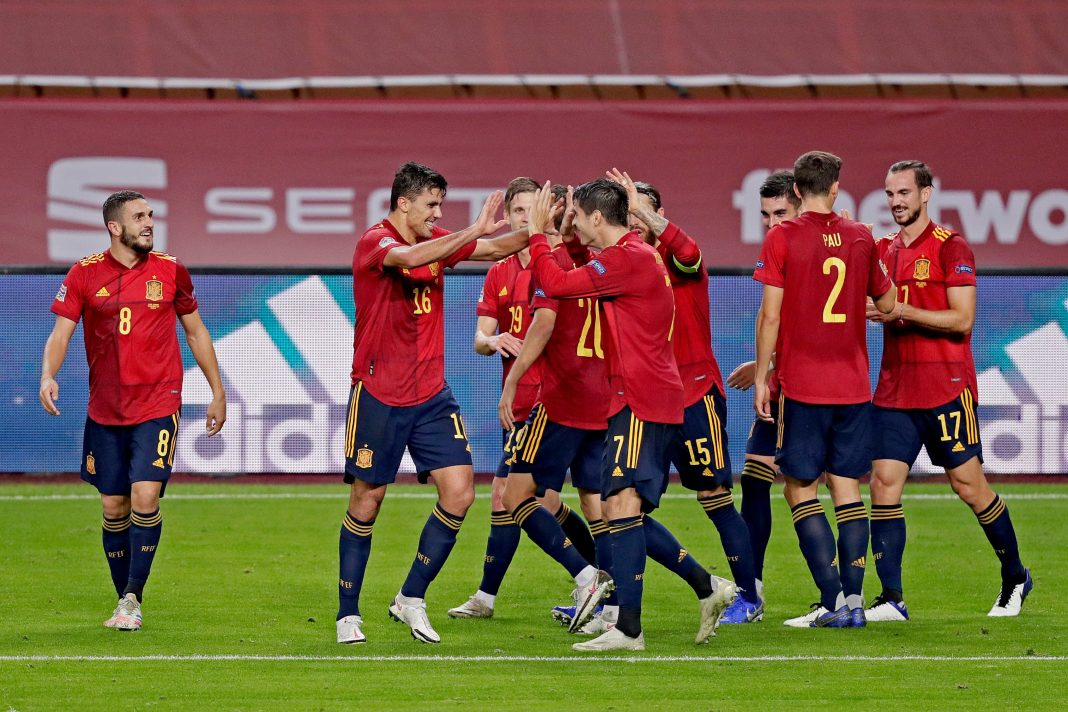Ferran Torres bags hat-trick as Spain hit six past Germany