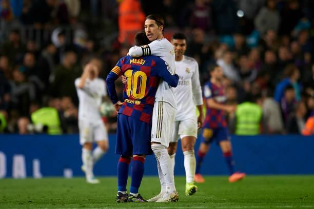 Messi and Ramos