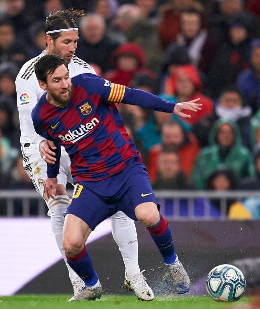 Tebas reiterates desire to keep Messi and Ramos at La Liga