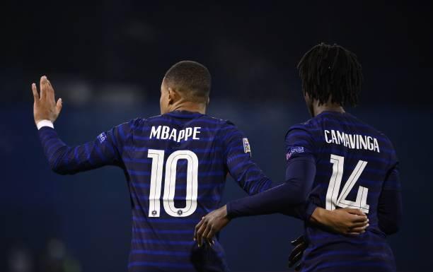 Mbappe and Camavinga