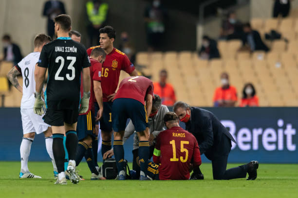 Ramos out for at least three games after hamstring injury