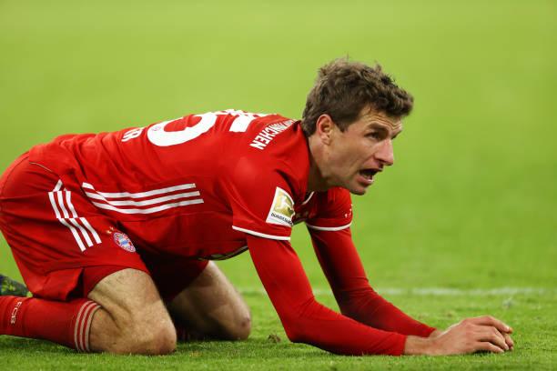 Muller critical of sloppy Bayern defending after Bremen draw