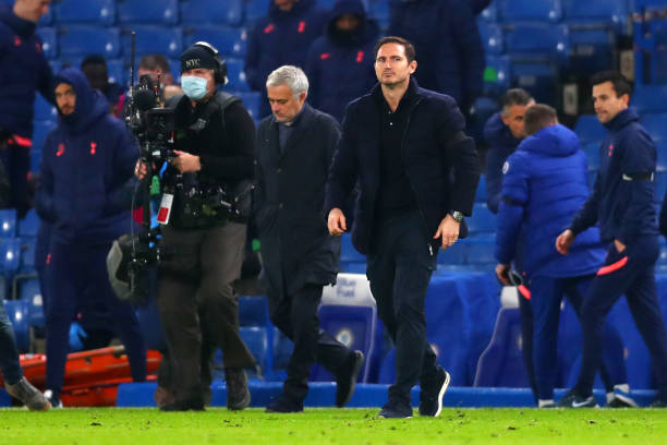 Lampard and Mourinho clash ends in stalemate