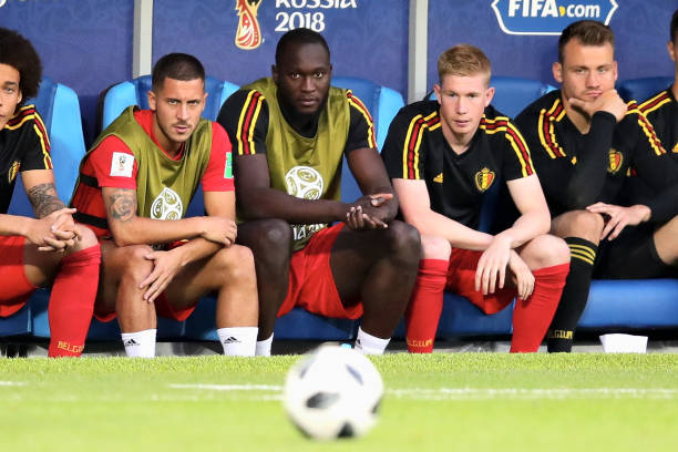 Hazard and Lukaku were included in Belgium's squad