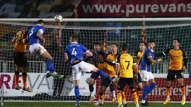 FA Cup, Brighton, Newport