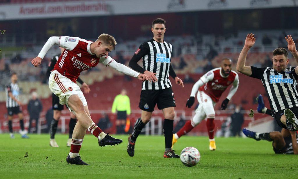 Arsenal, Newcastle