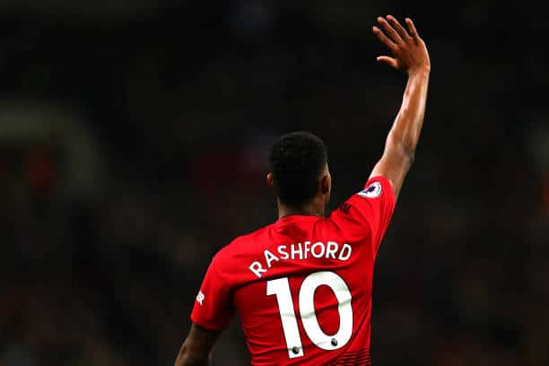 Marcus Rashford has worked tireless on, and off the field.