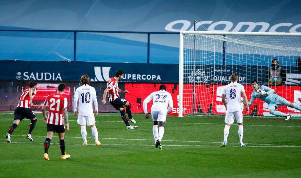 Raul Garcia double knocks Madrid out of Spanish Super Cup