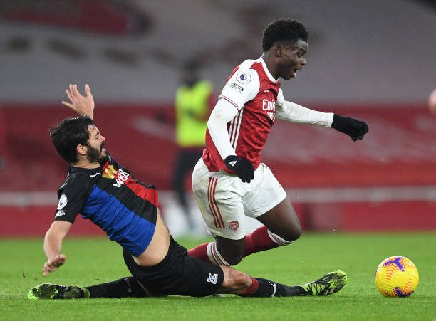 Arsenal and Crystal Palace held to a dour stalemate