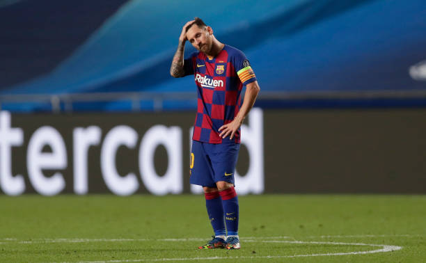 Messi wanted to leave Barcelona at the start of the season but opted to remain at Camp Nou.