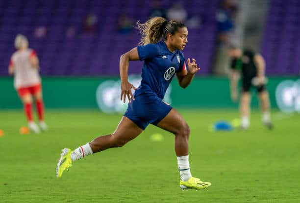 Lyon and USWNT prospect Catarina Macario (Photo by Brad Smith/ISI Photos/Getty Images)