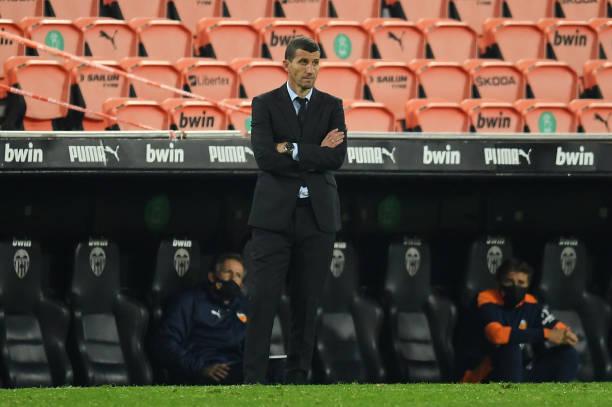 Valencia part ways with Javi Gracia after Barca loss