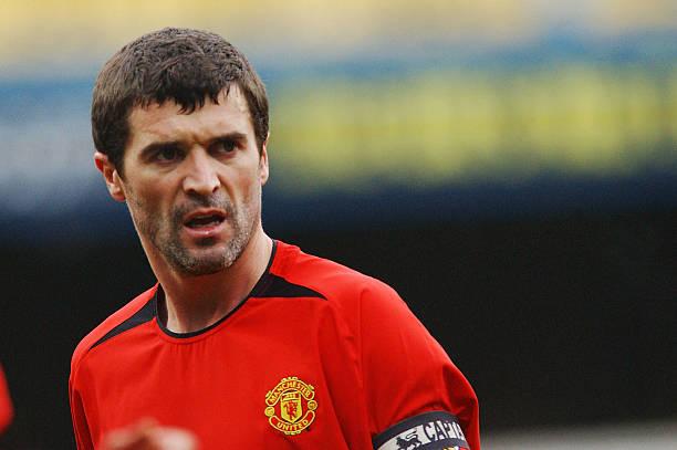 Premier League player Roy Keane