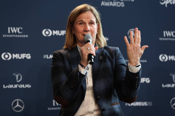 Former USWNT head coach and now NWSL San Diego expansion side Sporting Director Jill Ellis