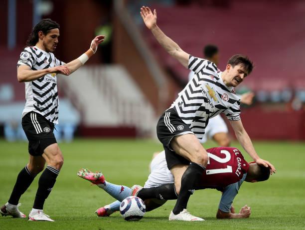 Premier League defender Harry Maguire.