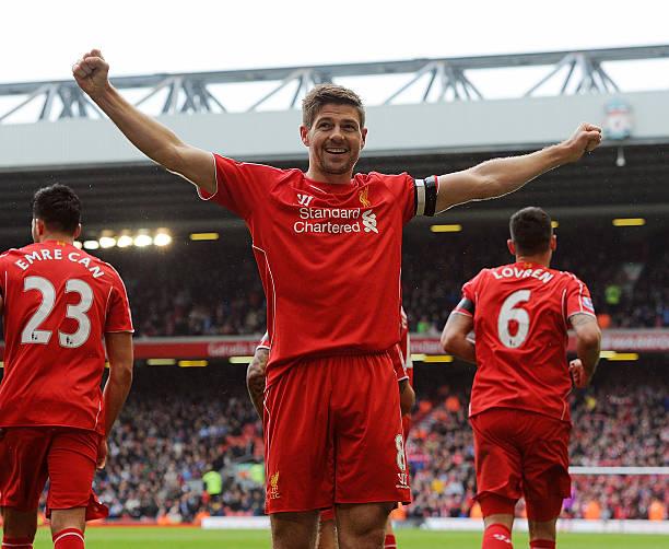 Premier League player Steven Gerrard