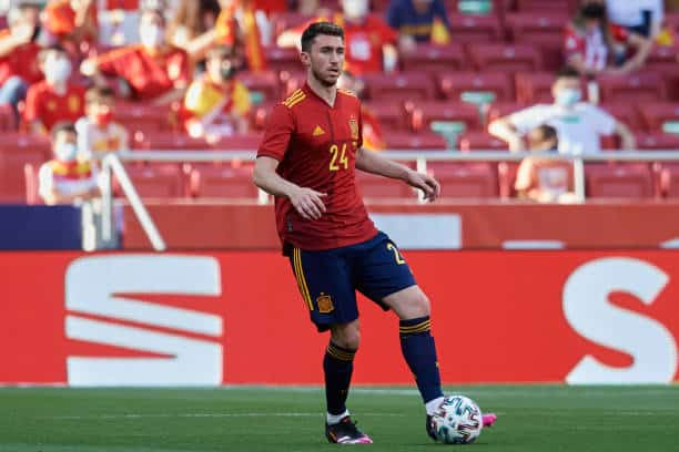 Man City defender Aymeric Laporte will be going to Euro 2020, his first international tournament, following the change of his allegiances from France to Spain (Photo by Jose Breton/Pics Action/NurPhoto via Getty Images)