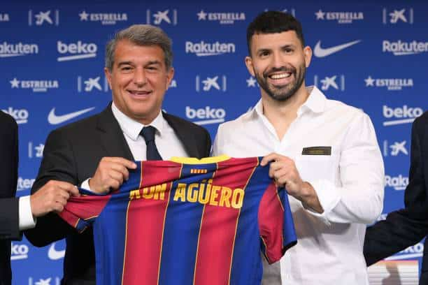 City legend Kun Aguero and Eric Garcia join Barca on free transfer