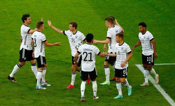 Low's men breeze past Latvia in eight goal thriller