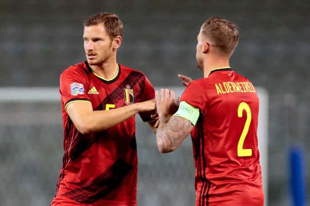 Belgium and former Spurs duo Jan Vertonghen and Toby Alderweireld will be in group B action (Photo by Soccrates/Getty Images)