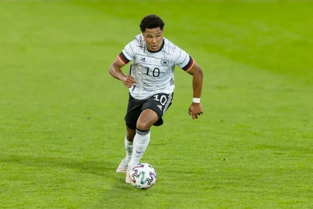 Bayern Munich and Germany star Serge Gnabry will be a player to watch for sure at Euro 2020 (Photo by Roland Krivec/DeFodi Images via Getty Images)