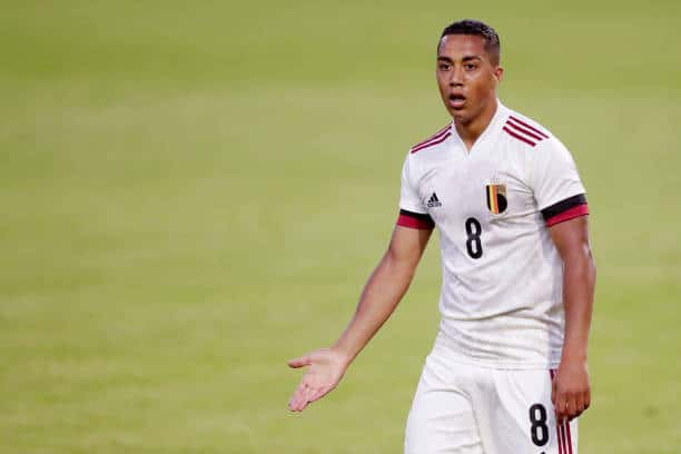 Schmeichel's club teammate Youri Tielemans will also be playing at Euro 2020 for Belgium in the same group in fact (Photo by Angelo Blankespoor/Soccrates/Getty Images)
